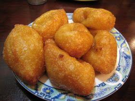 Coquetas de yuca con queso