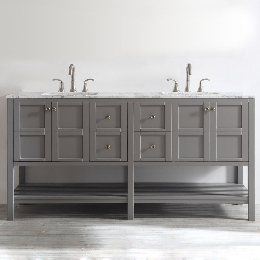 Caldwell 72 Double Bathroom Vanity Set With Images Double