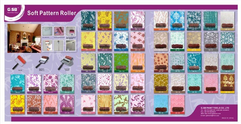 House · Patterned Paint Rollers ...