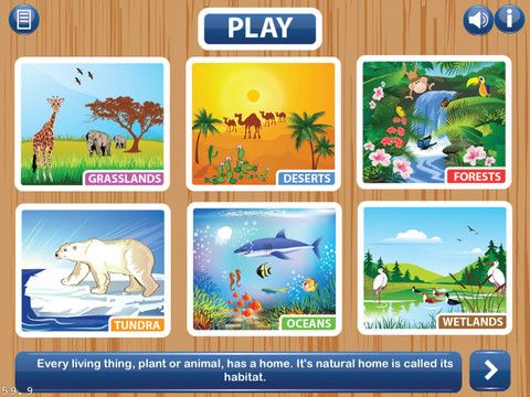 Ecosystems HD ($2.99) Ever wondered why plants and animals have ...
