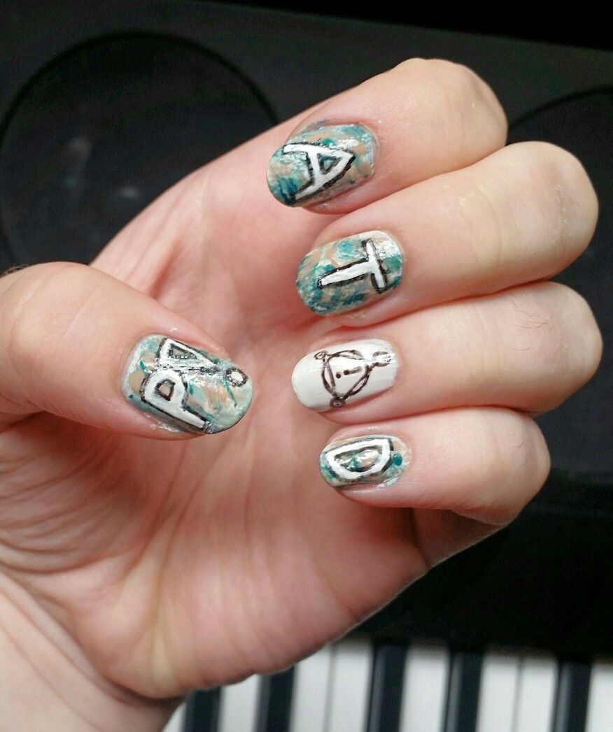 Panic At The Disco Pray For The Wicked Inspired Nail Art
