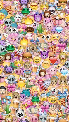 Emoji Wallpaper Background Gambar Hewan Lucu Wallpaper Iphone Gambar Serigala