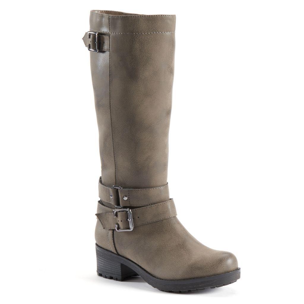 SONOMA life style Womenus Tall Lug KneeHigh Boots  Shoes
