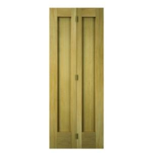 Wickes Oxford Oak 2 Panel Internal Bi Fold Door 1981mm X 762mm Concertina Doors Concertina Doors Internal Doors