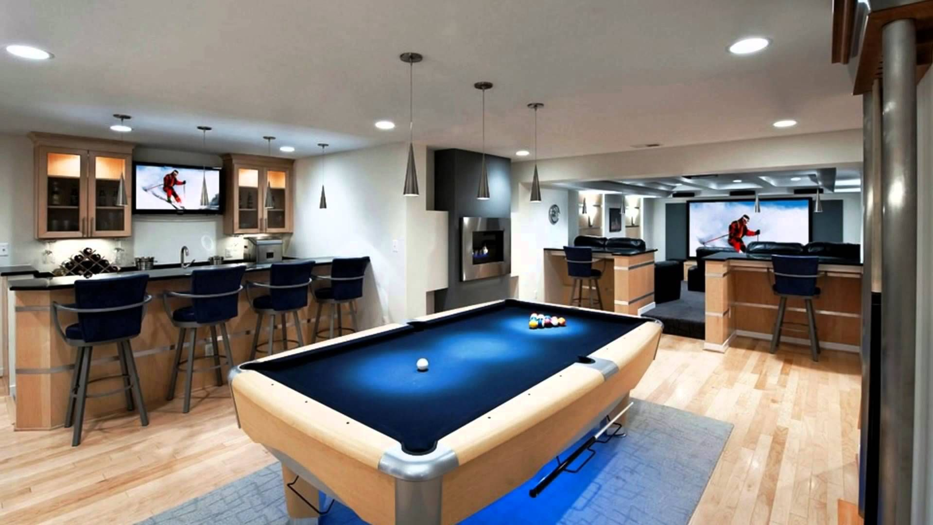 Marvelous Just A Man Cave | Media Room | Recreation Room Design Ideas   YouTube Pictures