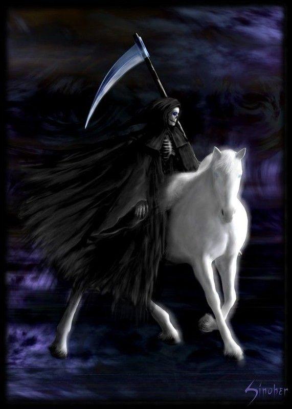 reaper | La Santisima Muerte in 2019 | Death reaper, Grim