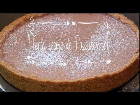 Torta creme de Passatempo! O sabor final é inexplicável. Obs: Essa é uma torta creme. Se desejar uma consistência mais firme, indicamos colocar 12g de gelati...