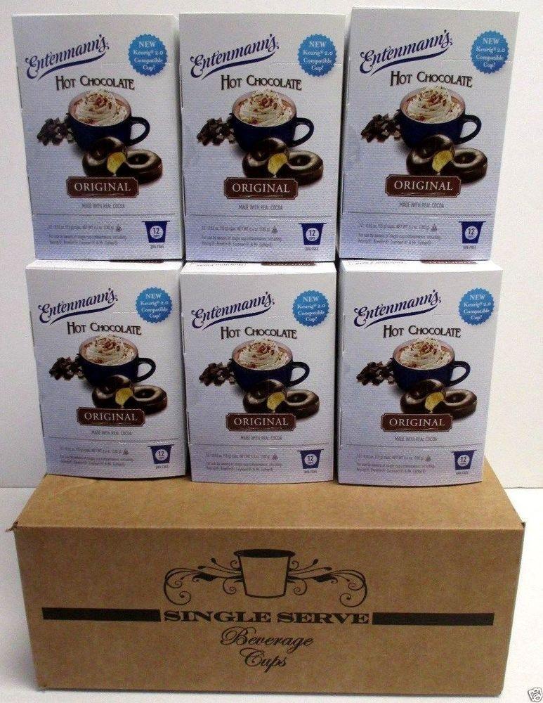 Details about single serve cups hot cocoa entenmanns hot