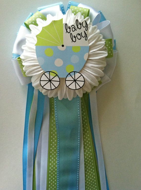 It S A Boy Baby Shower Corsage By Littlecreationz On Etsy 20 00