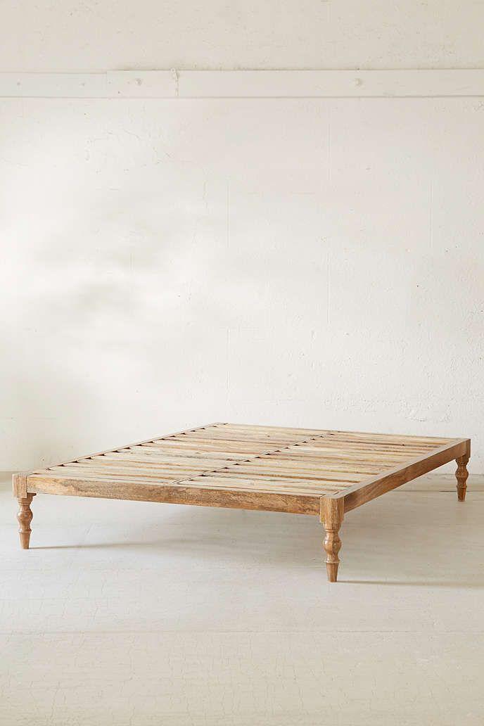 Bohemian Platform Bed Hochbett Dekor Urban Outfitters Bettwasche
