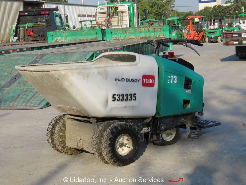 2013 Toro MB1600 Ride On Self Propelled Concrete Power Buggy