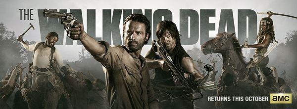 Póster oficial de la cuarta temporada de The Walking Dead | Series ...