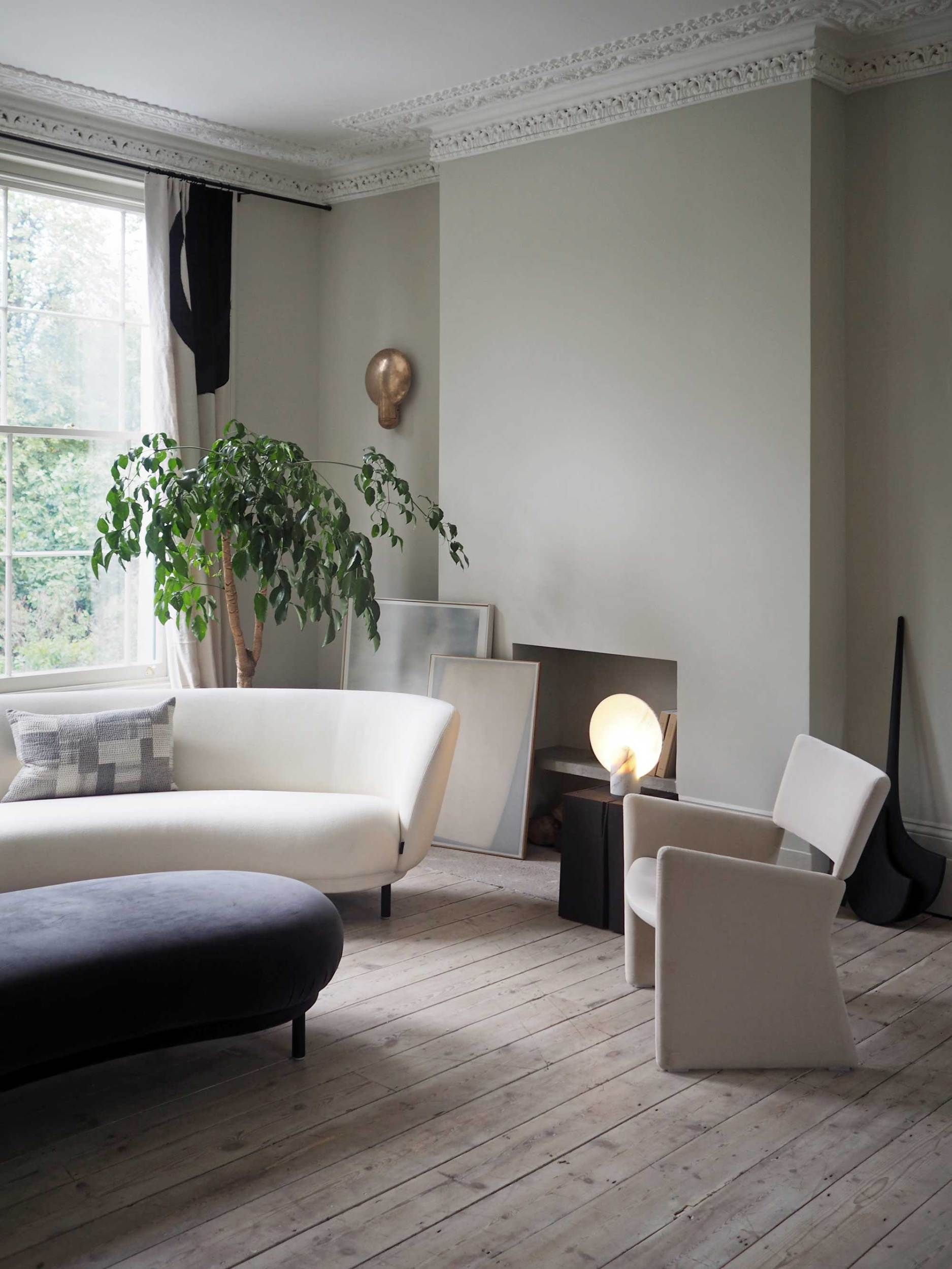 Home tour an elegant calming house in london these four walls blog also haute decor pinterest living room inspiration rh