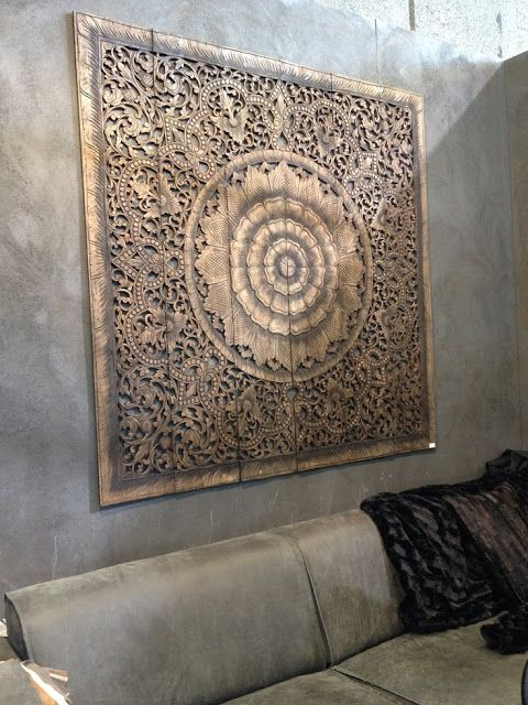 Bohemian Pages A Moroccan Rumination Carved Wood Wall