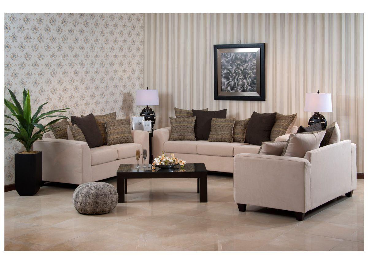 طقم جلوس بلون البيج الهادئ المكمل بخداديات ملونة لتكمل التناسق أطقم جلوس غرف جلوس مفروشات تسوق ميداس Furniture Home Decor Home