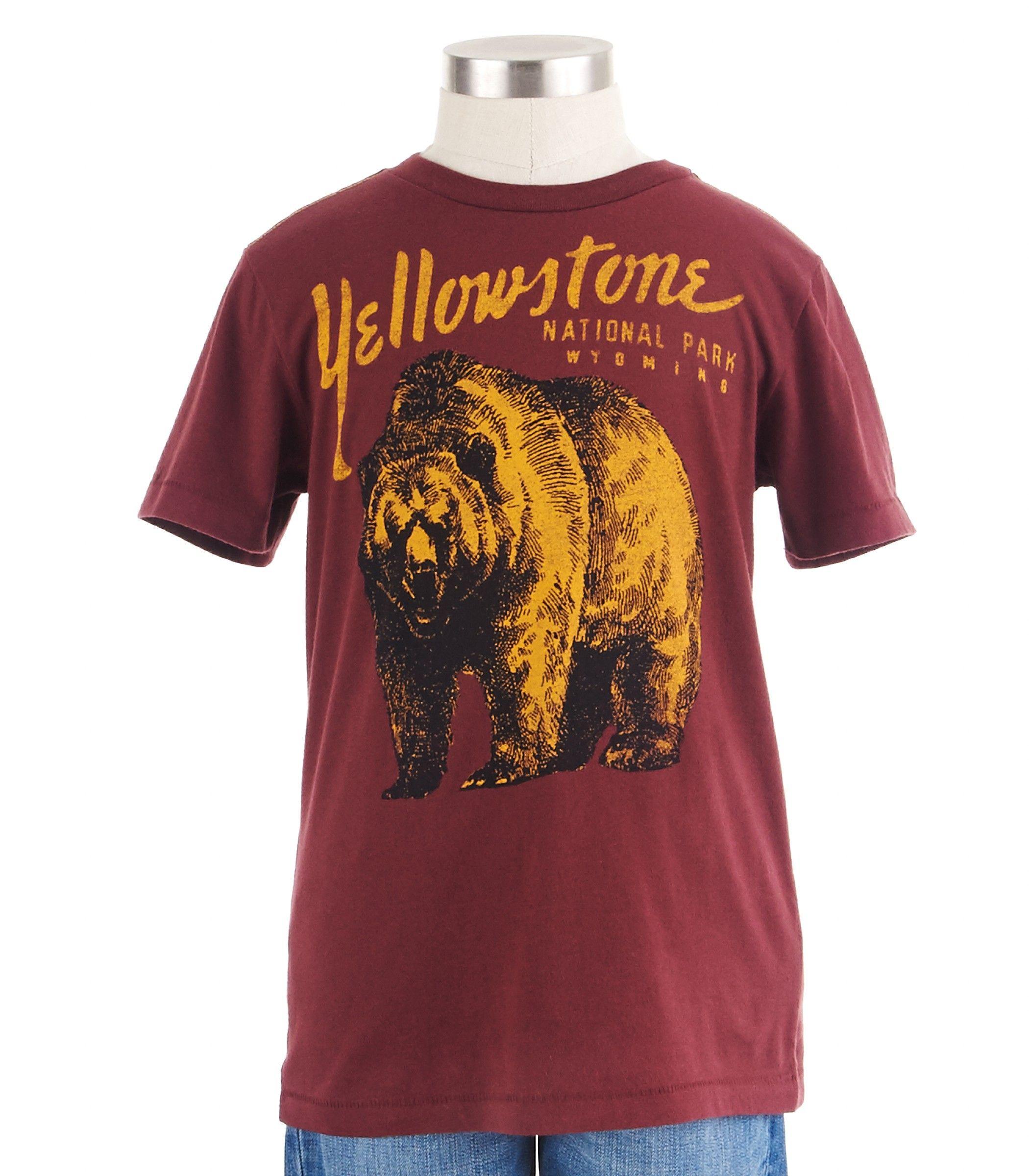 Yellowstone Tee - Shirts & Tees - Shop - boys | Peek Kids Clothing
