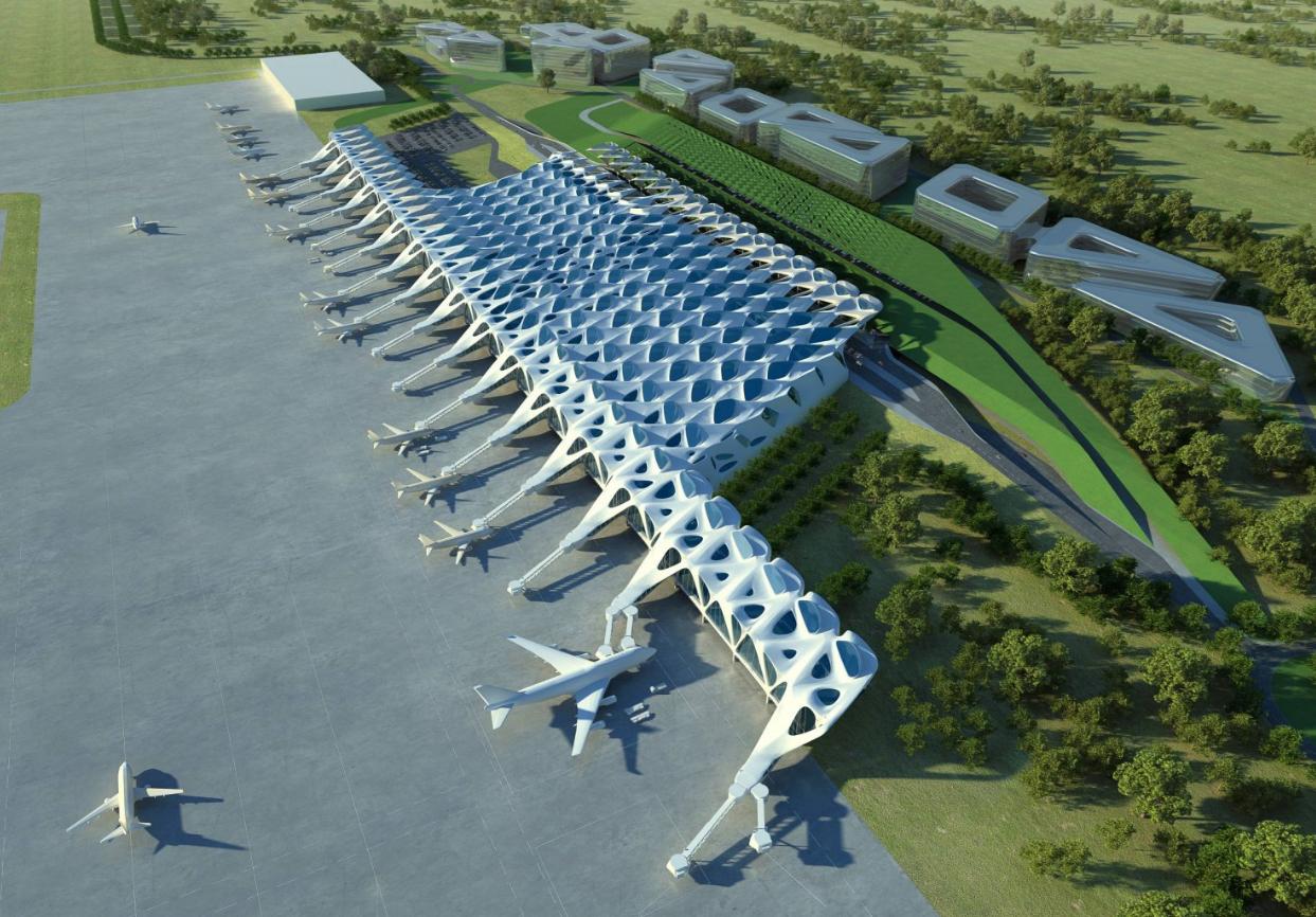 New Passenger Terminal For Zagreb Airport Zaha Hadid Architects Aeroportos Arranha Ceu Planeamento Urbano