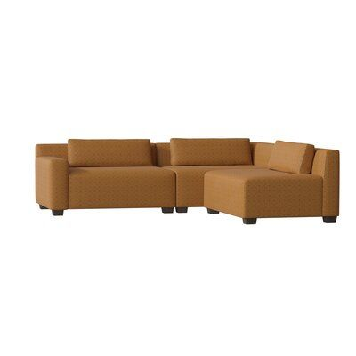 "My Chic Nest Alisa 108"" Right Hand Facing Sofa & Chaise with Ottoman 