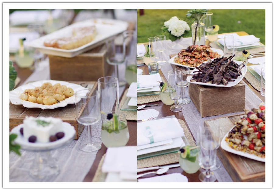 family style wedding table | ... wedding table stays beautiful and ...