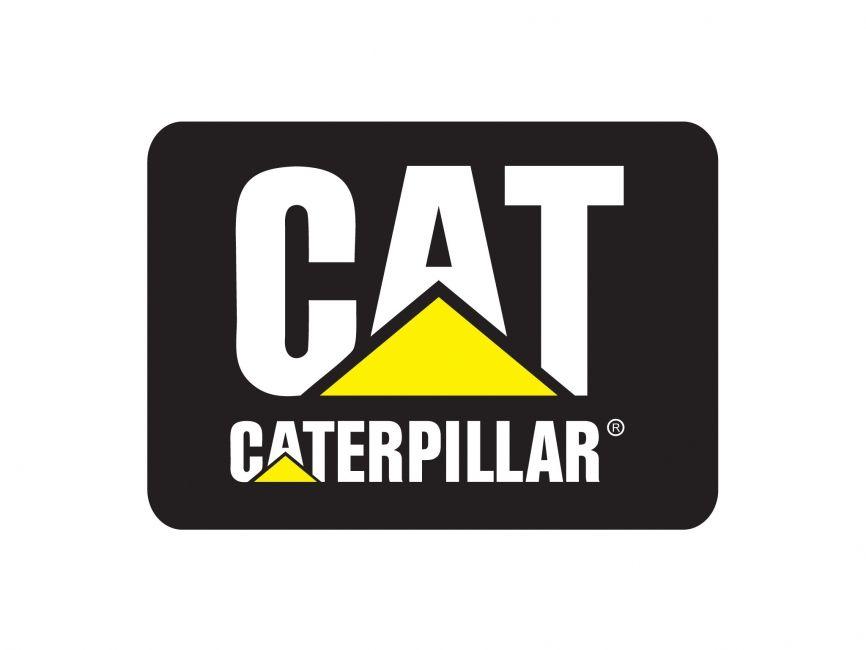 caterpillar shoes european brands logo vector