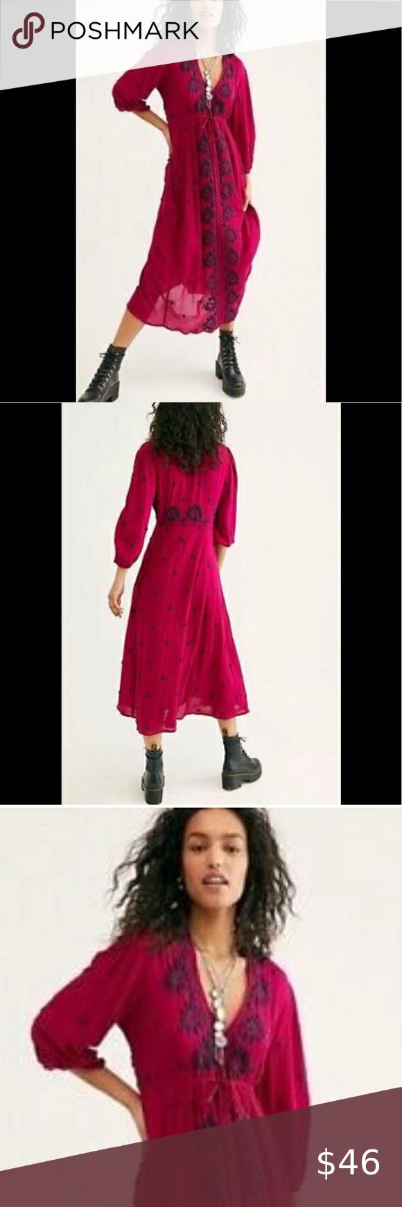 New Listing Free People Dress SZ-S BNWT