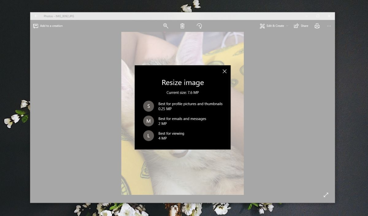 How To Resize Photos In The Photos App On Windows 10