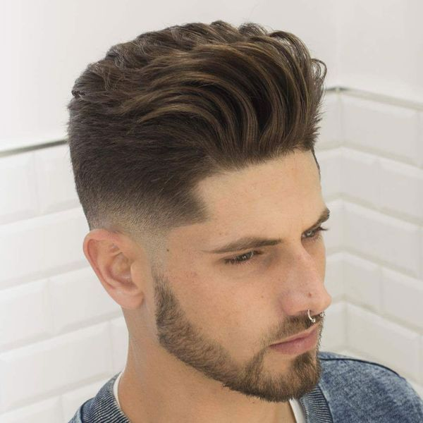50 Best Blowout Haircuts For Men Cool Blowout Taper Fade Styles 2020 Men New Hair Style Haircuts For Men Mens Facial Hair Styles