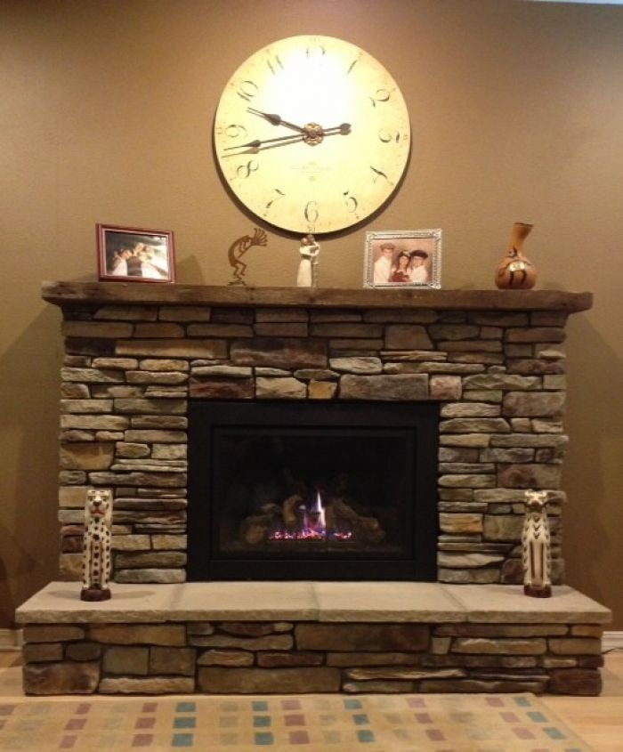 gas fireplace surround ideas | ideas, photos of and fireplace