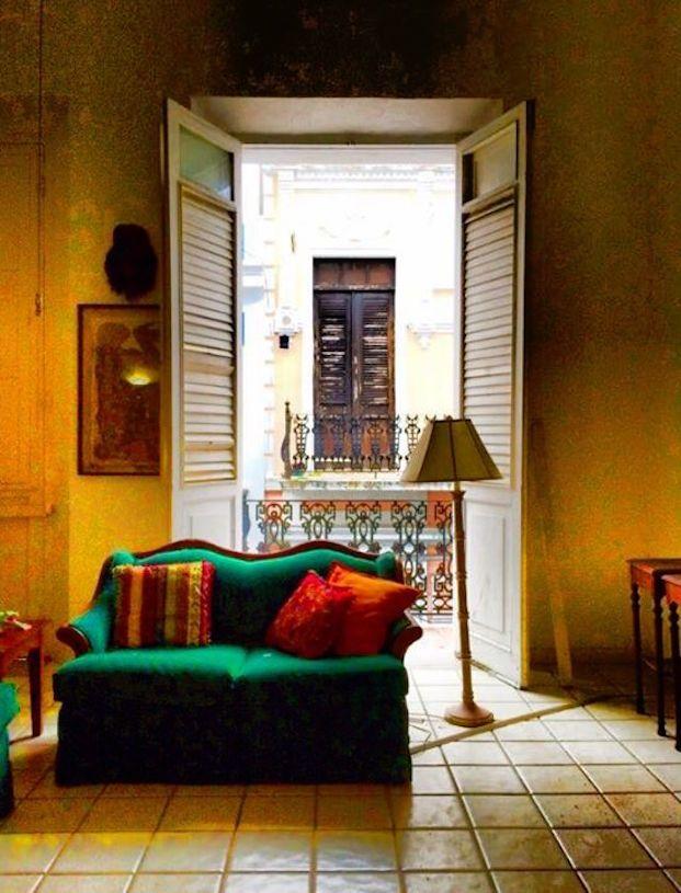 Interior Residence, Old San Juan, Puerto Rico U2013 Puerto Rico Historic  Building Drawings Society