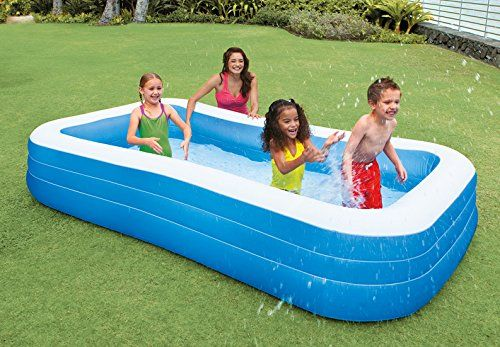 Amazon Com Intex Swim Center Family Inflatable Pool 120 X 72 X