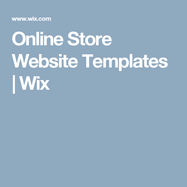 online store website templates wix photography website. Black Bedroom Furniture Sets. Home Design Ideas