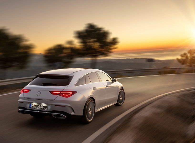 2019 Mercedes Benz Cla Shooting Brake Defined By Muscular Sloping