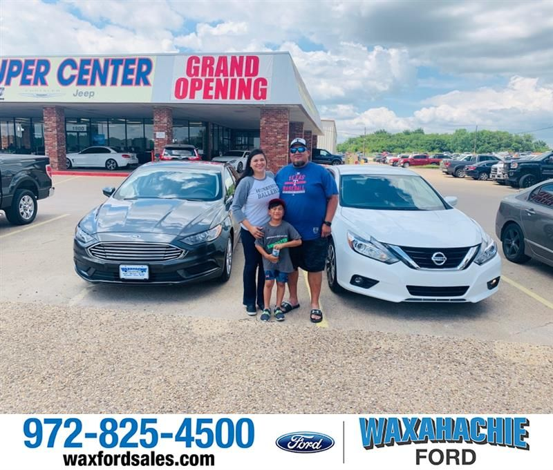 Congratulations Soto Family On Buying 2 Used Cars From Me Saturday 2018 Nissan Altima And 2017 Ford Fusion Preowned Certifi Road Trip Car Waxahachie Ford