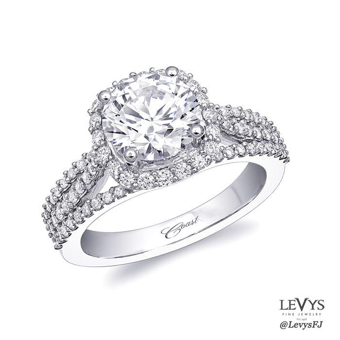 LC10032  #coastdiamond #engagement #engagementring #wedding #weddingring #bridal