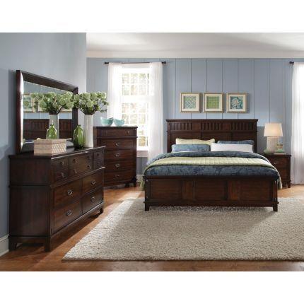 6pc866sonoma50 Standard Furniture 6 Piece Queen Bedroom Set 1199 Rc Willey Brown Furniture Bedroom Wood Bedroom Furniture Sets Wood Bedroom Sets