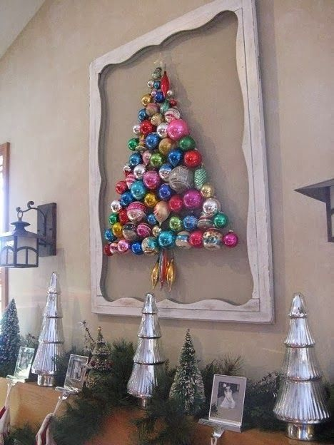 things you can make with old christmas tree ornaments for the home rh pinterest es