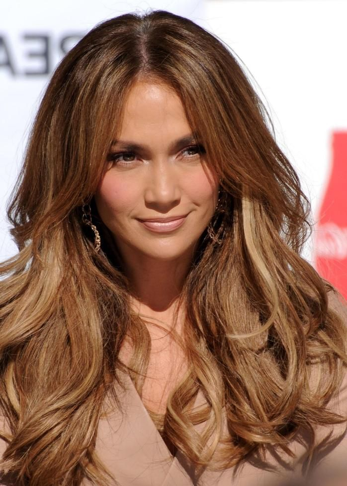 j lo hair color 2012 long hair dont care pinterest
