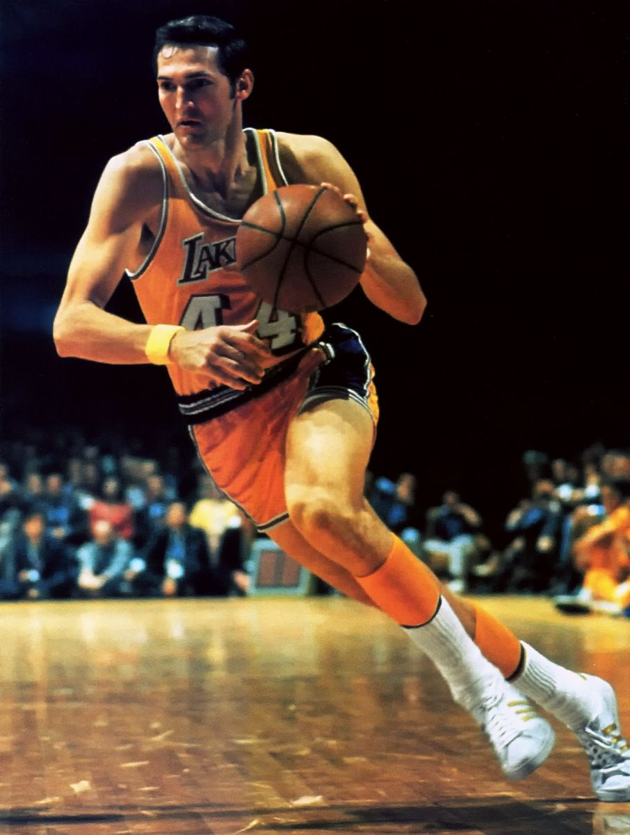 Jerry West Aka The Nba Symbol Basketball Legends Nba