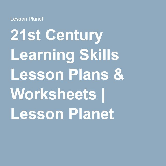 21st Century Learning Skills Lesson Plans \ Worksheets Lesson - skills & abilities for resume