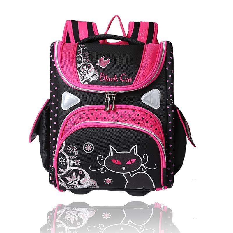 36f234b86d58 wenjie brother top children s Backpack foldedschool backpack orthopedic  Children School Bags for boys and Girls mochila infantil