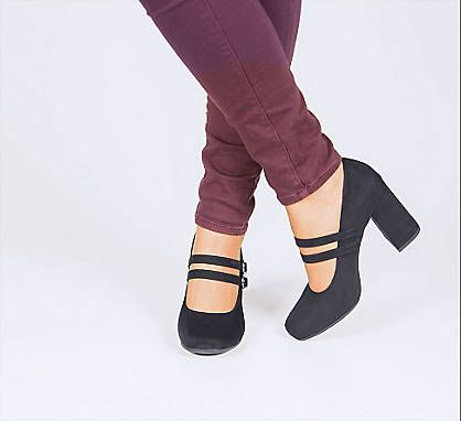 Czarne Czolenka Damskie Graceland 1170340 Deichmann Com Heels Shoes Fashion