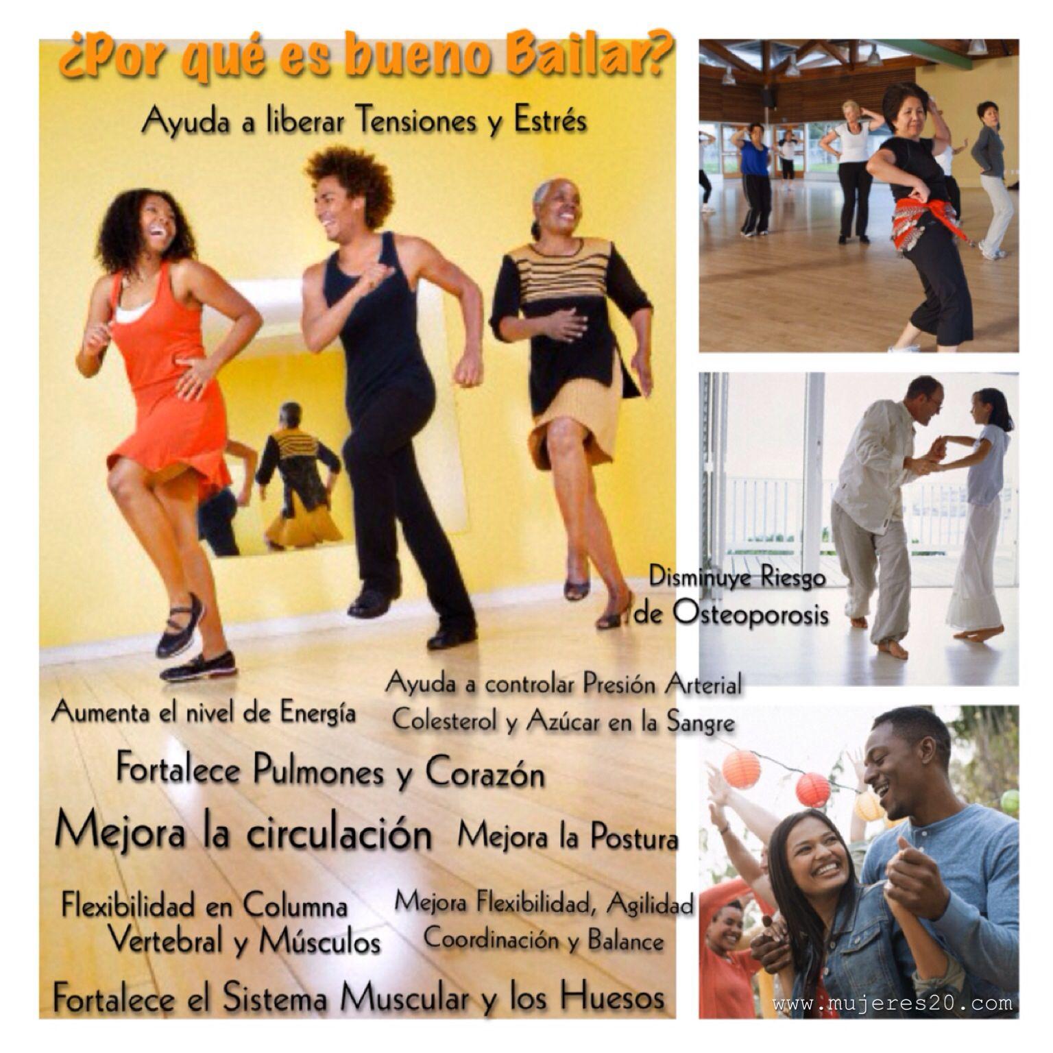 ¿Por qué es bueno Bailar?