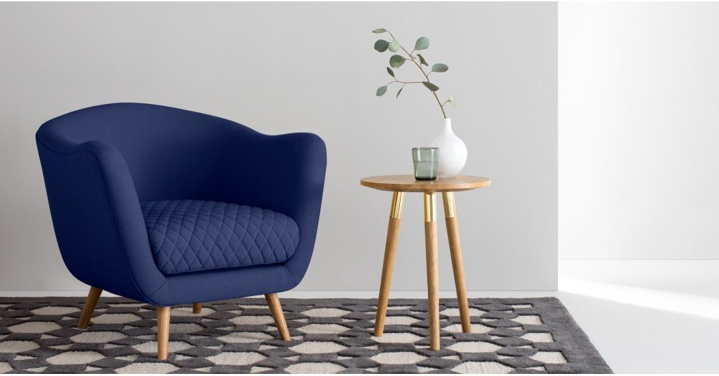 Best Flick Accent Armchair Cobalt Blue Accent Chairs Chair 400 x 300