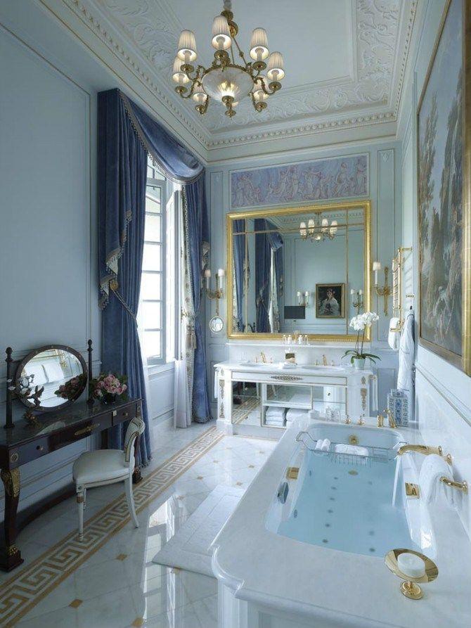 Sala De Bano De Lujo Banheiros Luxuosos Remodelar Casa De Banho