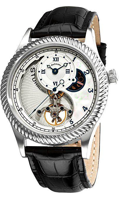6b55a54d64b5 Stuhrling Original 91D.331516 - Reloj analógico automático para hombre