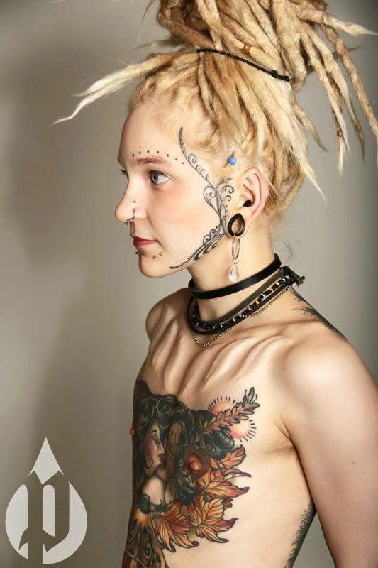 Pin by mboya vhelmer on Dreads!   Body piercings, Body art