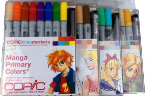 # Copic Ciao Manga Bundle Kit (4 Sets)
