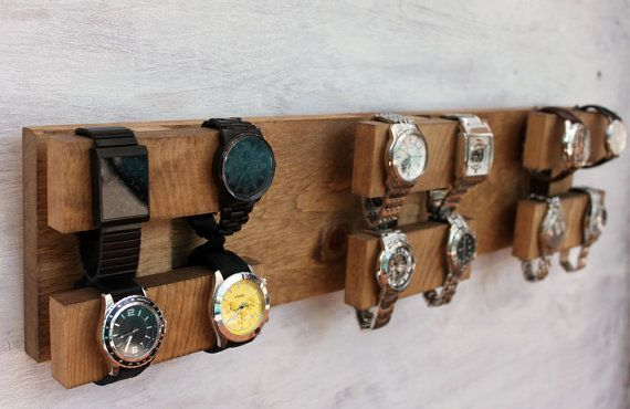 Wall Mounted Watch Display Rack The Watch Block Watch Holder Diy Furniture Watch Display
