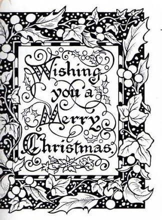 fotoğraf  christmas pictures to color free adult