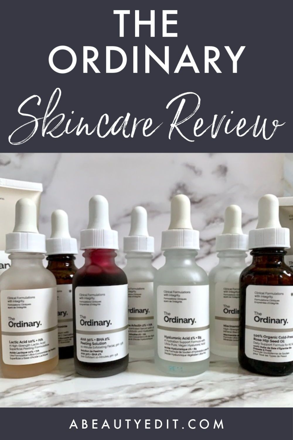 The Ordinary AntiAging Skincare Review A Beauty Edit in